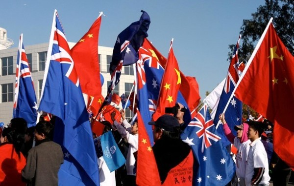 The deterioration of the Australia-China relationship