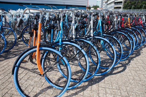 Swapfiets: The company with the blue front wheel